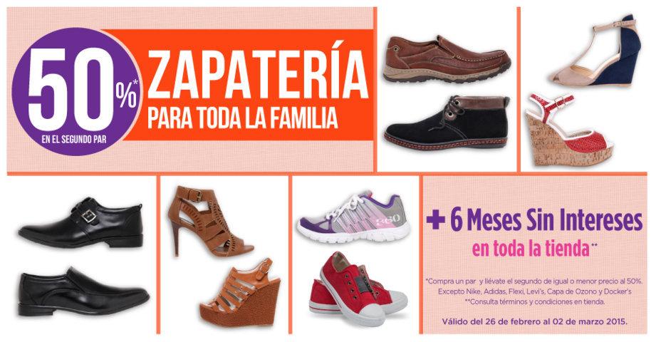 99dcf4c8f4ddb Suburbia  50% de descuento zapatos para toda la familia