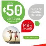 VivaAerobus 50 centavos