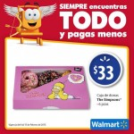 Walmart donas the simpons 6 piezas Offde
