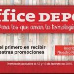 office depot 12 y 13 de febrero grandes descuentos
