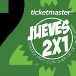 ticketmaster 2x1 jueves 12 de febrero