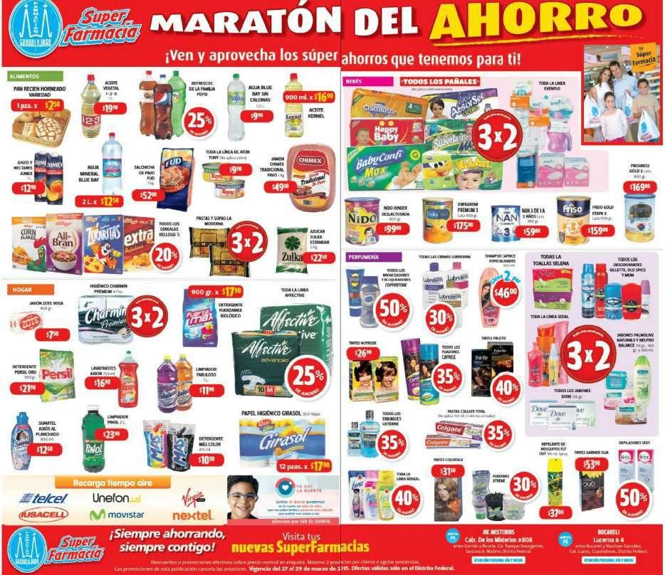 Farmacias Guadalajara: Maratón del Ahorro del 27 al 29 de