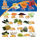 Folleto Chedraui Frutas y Verduras Offde