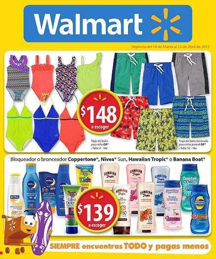 Walmart: Folleto de Promociones del 19 de Marzo al 12 de Abril