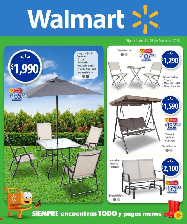 Walmart: Folleto de Promociones del 5 al 25 de Marzo