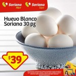 Huevo blanco Soriana