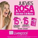 Liverpool Jueves Rosa Marzo