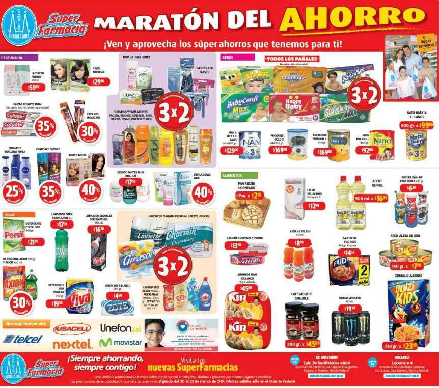 Farmacias Guadalajara: Maratón del Ahorrro del 20 al 22 de