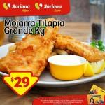 Mojarra Tilapia 29 el kilo OFFDE