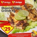 Mojarra Tilapia 29 pesos OFFDE