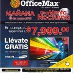 OfficeMax venta nocturna