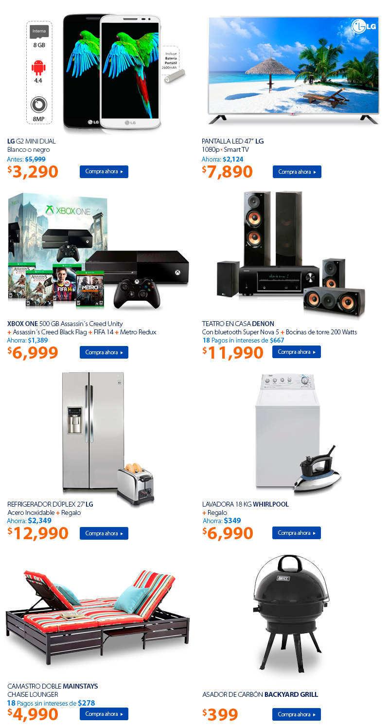 Walmart: Jueves Imperdible Pantalla LG 47″ Smart TV a $7,890