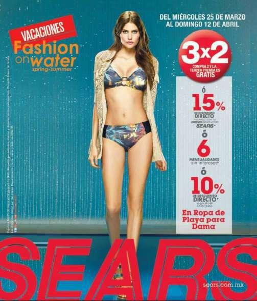 016acde13a27 trajes de bano para mujer sears - Bañadores de mujer