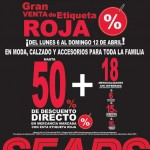 Sears Etiqueta roja OFFDE