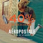 aeropostale descuentos del 40 por ciento