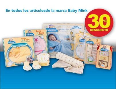 DelSol: 30% de descuento en toda la marca Baby Mink