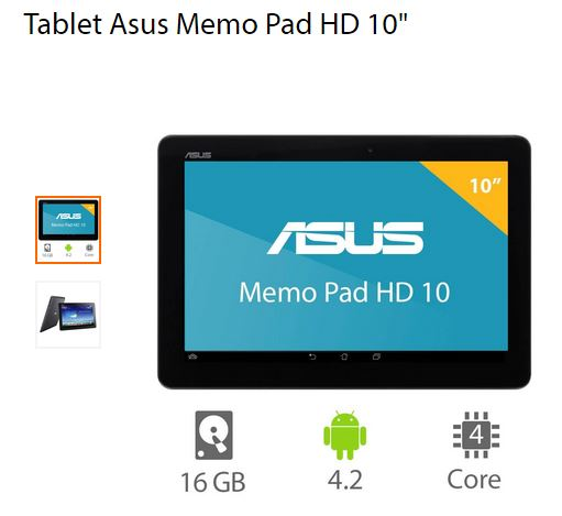 Walmart: Tablet Asus FHD 10″ $1,999