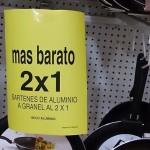 2x1 en sartenes