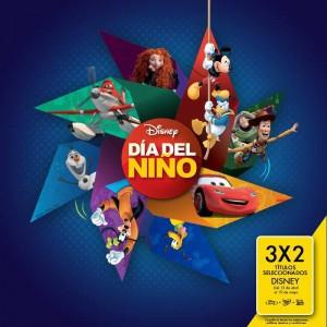 Blockbuster: Películas al 3×2 en Títulos Seleccionados de Disney