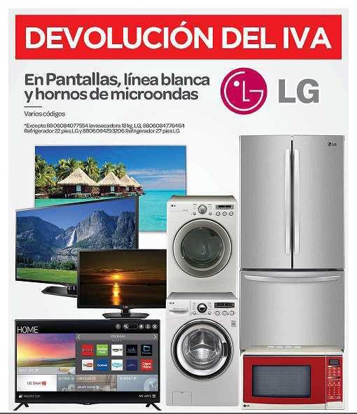 City Club: Devolución del IVA en Productos LG