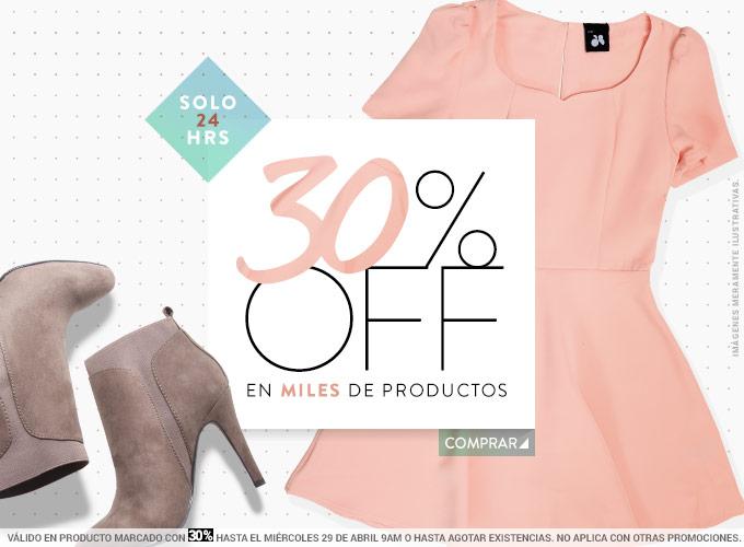 Dafiti: 30% de Descuento en Productos Nuevos