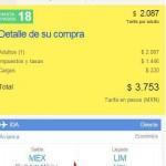 Despegar com Lima Perú en 4000 OFFDE