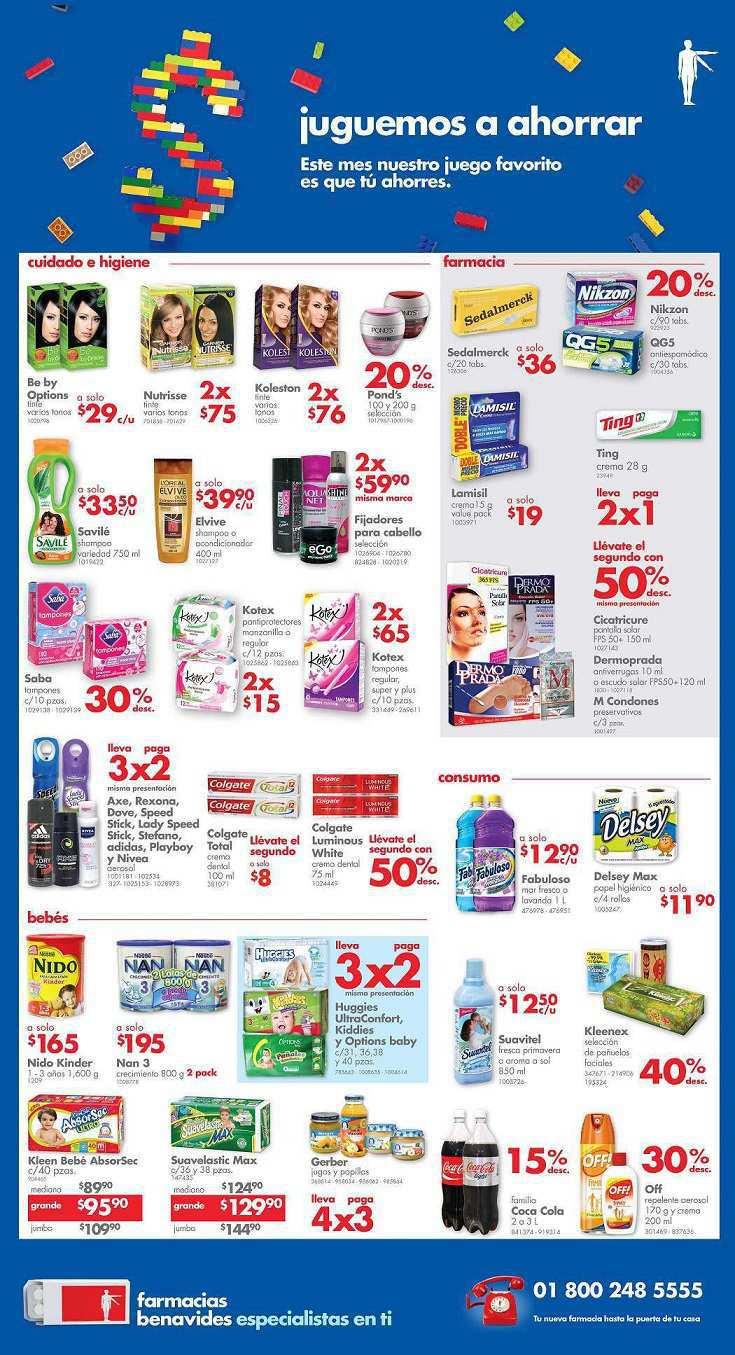 Farmacias Benavides: Promociones de Fin de Semana 10 al 12 de Abril
