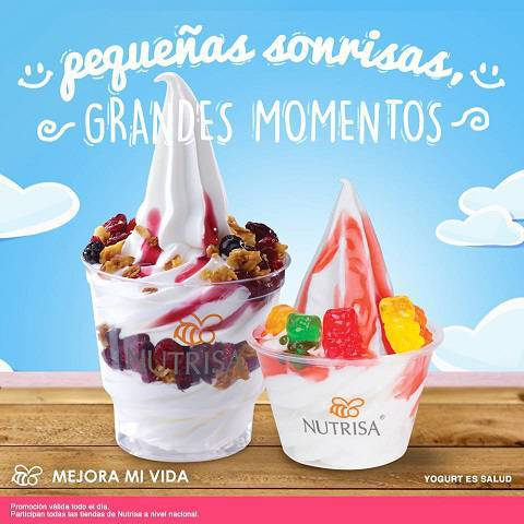 Nutrisa: Helado Mini Gratis en Compra de Helado Suave Doble