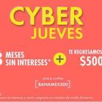 Linio CyberJueves Banemex OFFDE