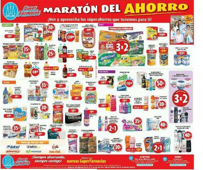 Farmacias Guadalajara: Maratón del Ahorro 1 al 5 de Abril