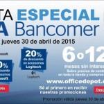 Office Depot Venta Especial Bancomer OFFDE