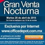 Office Depot Venta Nocturna OFFDE