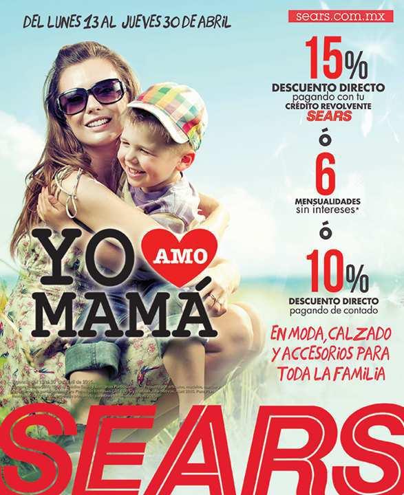 Sears: Hasta 15% de descuento en Moda, Calzado y Accesorios
