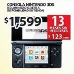 Soriana Nintendo 3DS