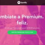 Spotify 3 meses a 9 pesos OFFDE