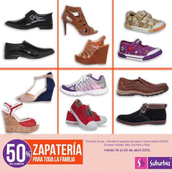 6ca30fa66b82a Suburbia  50% de Descuento en Zapatos para Toda la Familia