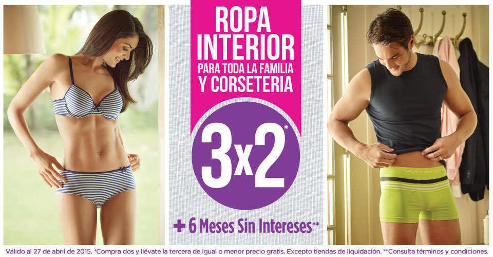 ofertas promociones y descuentos en ropa interior 2015