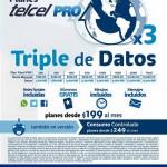 Telcel Triple de Datos