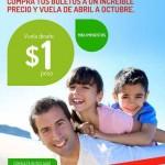 VivaAerobus 1 peso el boleto OFFDE