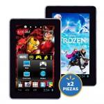 Walmart 2x1 en Tablets Disney y Marvel OFFDE