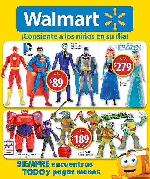 Walmart: Folleto de Promociones del 13 al 30 de Abril