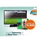 Walmart Pantalla mas Xbox One OFFDE