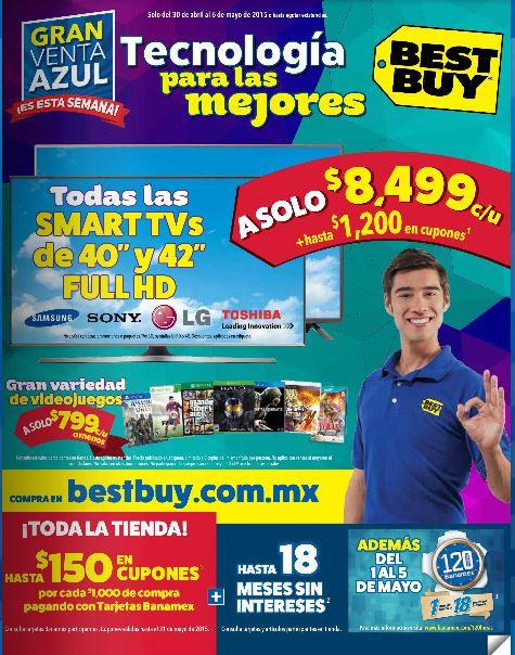 Best Buy: Gran venta azul del 30 de Abril al 5 de Mayo