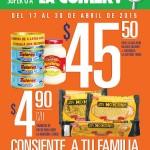 la comer folleto de promociones segunda quincena de abril