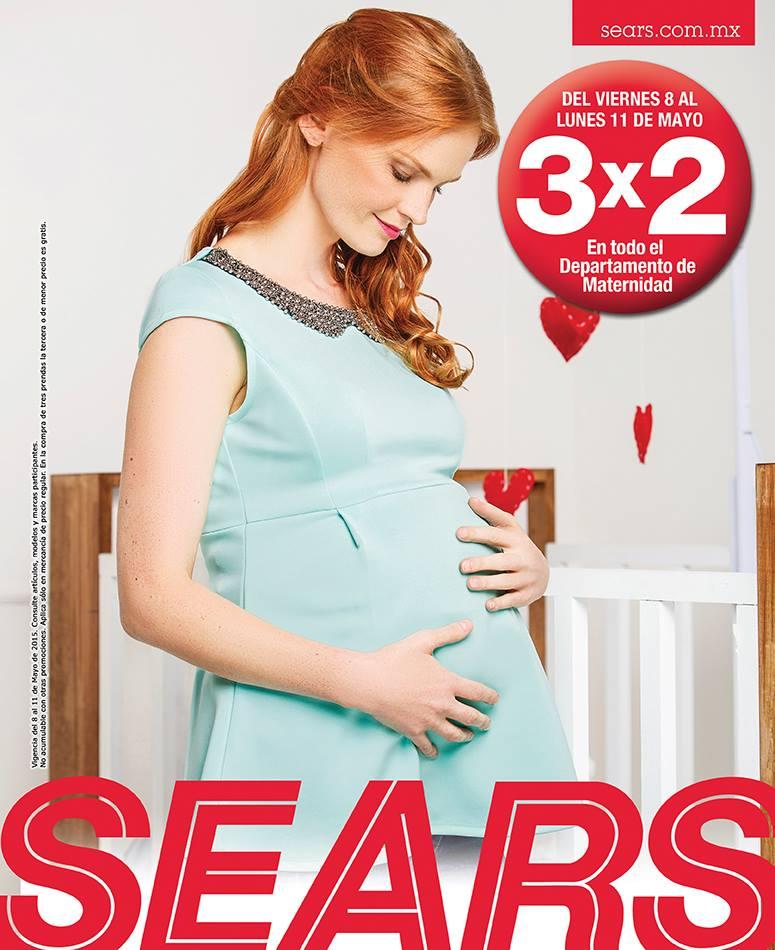 105bb0d9e Sears  3×2 en todo el departamento de Maternidad