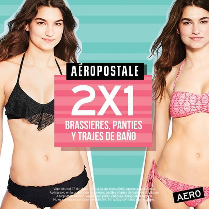 Aeropostale 2 1 en ropa interior oferta descuentos for Ofertas de ropa interior