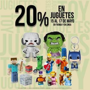 Blockbuster: 20% de Descuento en Juguetes
