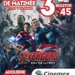 Cinemex Matinee Avengers OFFDE