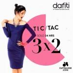 Dafiti 3x2 en Catwalk88 OFFDE