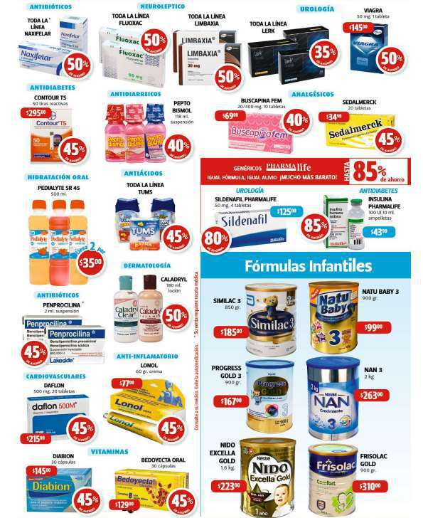Farmacias Guadalajara: Promociones del 25 al 27 de Mayo
